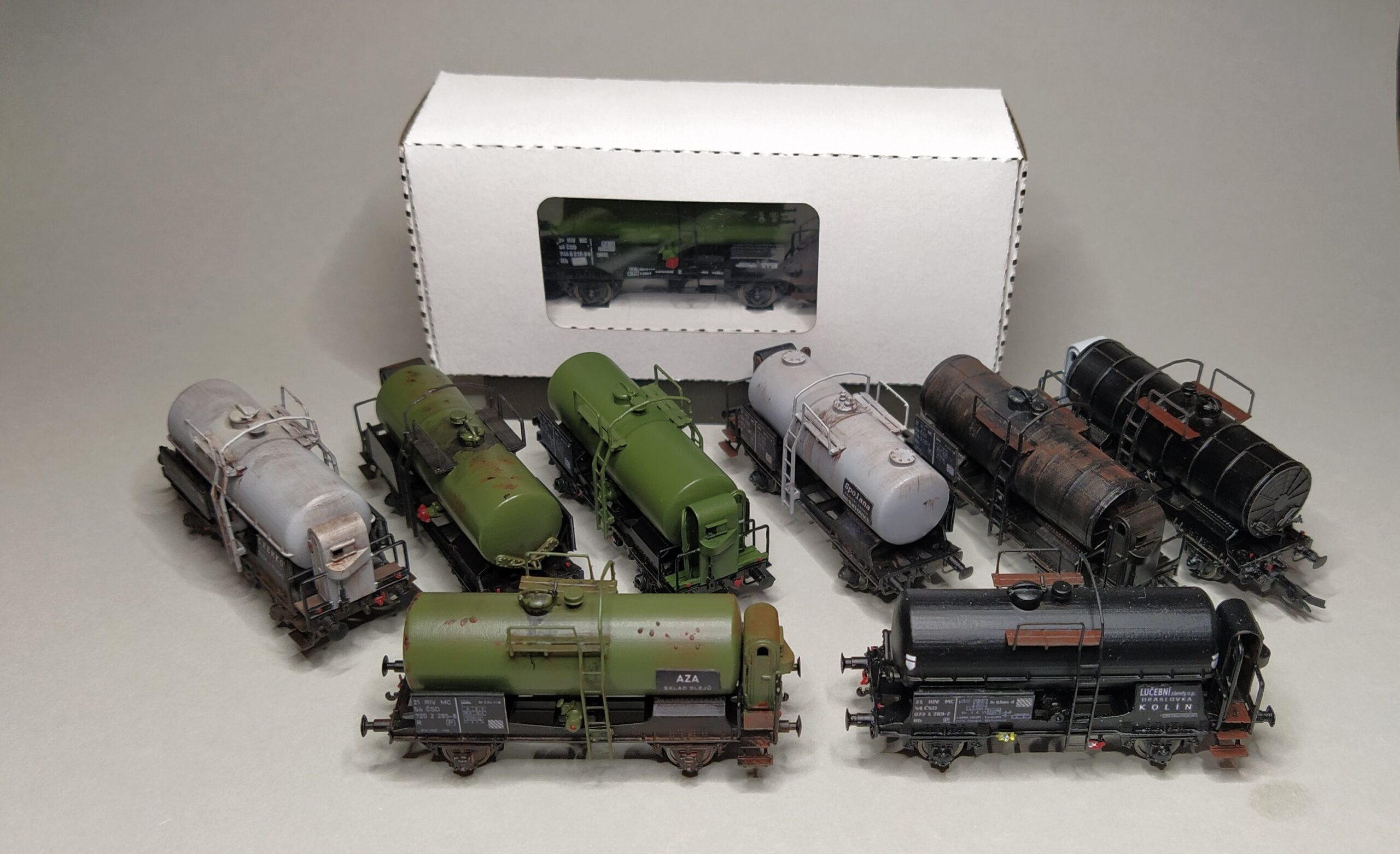 Modely TT kotlové vozy